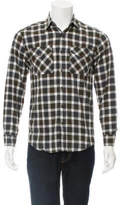 Billy Reid Plaid Graham Shirt w/ Tags