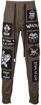 Haculla Stabat track trousers