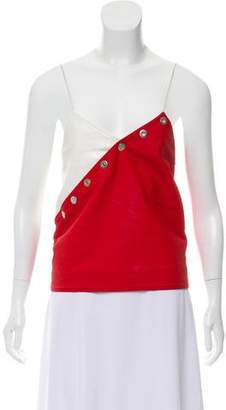 Courreges Colorblock Sleeveless Top