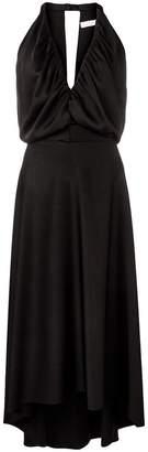 Chloé draped flared midi dress
