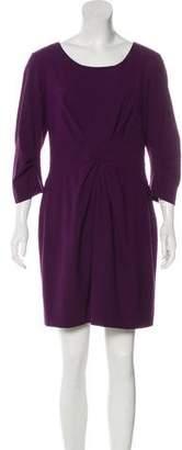 Lafayette 148 Wool Mini Dress