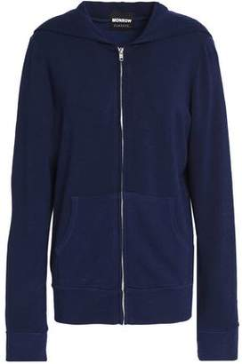 Monrow Knitted Hooded Jacket