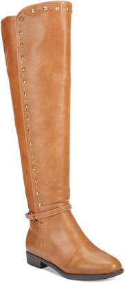 Rialto Ferrell Studded Over-The-Knee Boots Women's Shoes