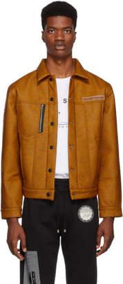 Filling Pieces Orange Denim Marmarou Jacket