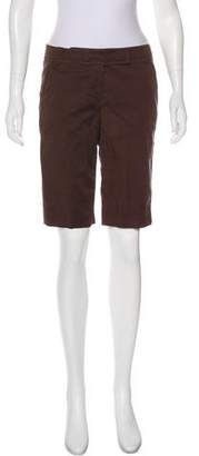 Tory Burch Mid-Rise Knee-Length Short