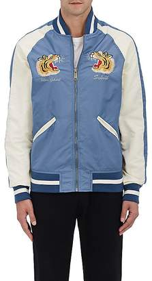 Schott NYC Perfecto Brand by PERFECTO BRAND BY MEN'S USS LEXINGTON COMMEMORATIVE FLIGHT JACKET