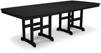 Polywood Nautical Dining Table - Black