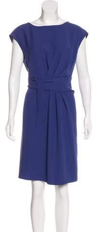 Armani Collezioni Sleeveless Gathered Dress