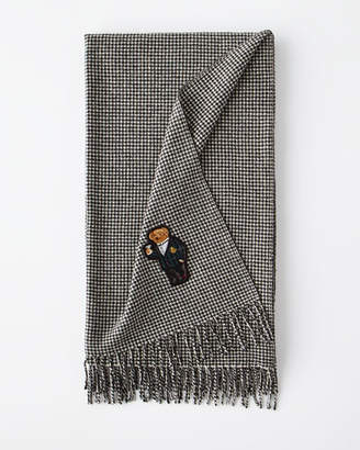 Ralph Lauren Home Bartley Bear Throw Blanket