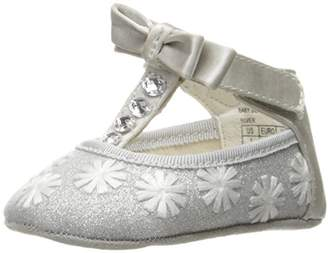 Badgley Mischka Girls' Baby Bow Tie Ballet Flat