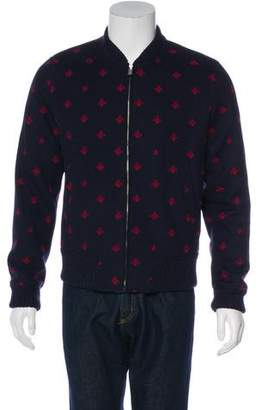 Gucci 2017 Wool Bee & Star Bomber Jacket