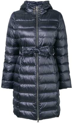 Liu Jo tie waist puffer coat