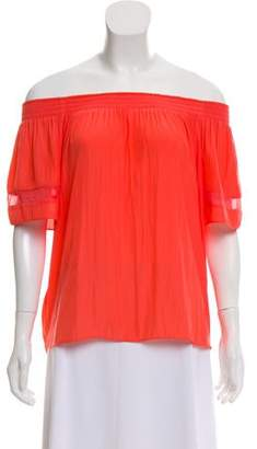Ramy Brook Short Sleeve Oversize Top