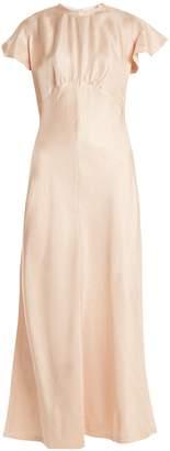 Painted Heart high-neck dress