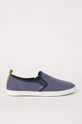 H&M Slip-on Shoes - Blue