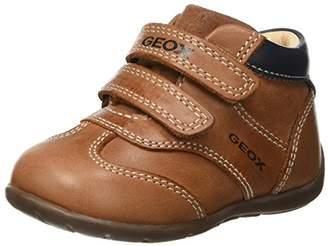Geox Boys' Kaytan 33 All Leather Bootie Sneaker