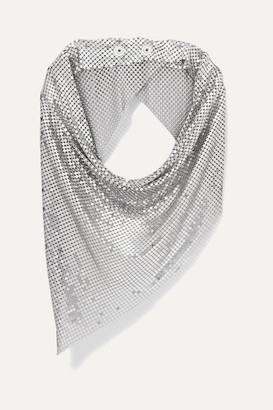 Paco Rabanne Chainmail Scarf - Silver