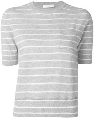 Fabiana Filippi striped knitted T-shirt
