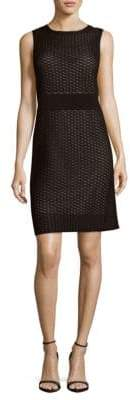 Lafayette 148 New York Geometric Sheath Dress