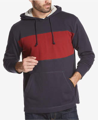 Weatherproof Vintage Men's Colorblocked French Terry Hoodie