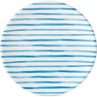 Dansk Nilsen Blue Stripe Dinner Plate