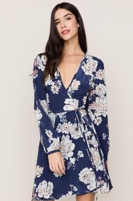 Yumi Kim Duchess Wrap Silk Dress