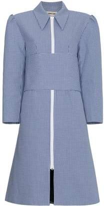 Shushu/Tong Gingham Belted Coat