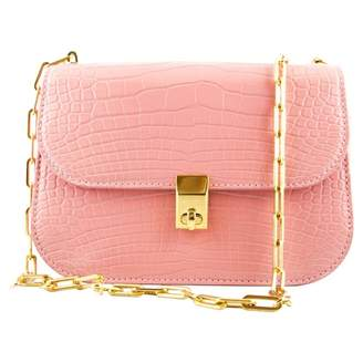 Valentino All over chain Pink Exotic leathers Handbags