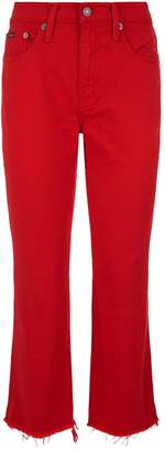 Polo Ralph Lauren Chrystie Kick-Flare Crop Jeans