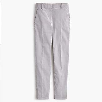 J.Crew Cameron slim crop pant in seersucker