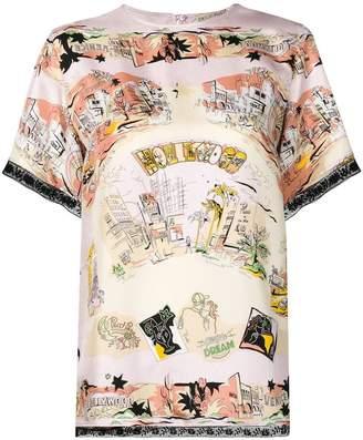 Emilio Pucci graphic print T-shirt