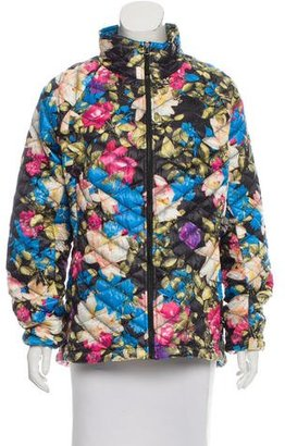 The North Face Quilted Floral Print jacket $95 thestylecure.com