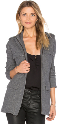 James Perse Field Jacket $350 thestylecure.com