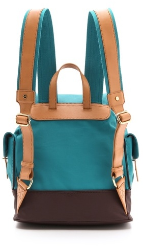 Tory Burch Dipped Canvas Backpack