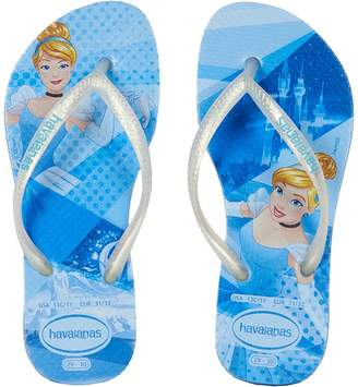 Havaianas Slim Princess Flip Flops Girls Shoes
