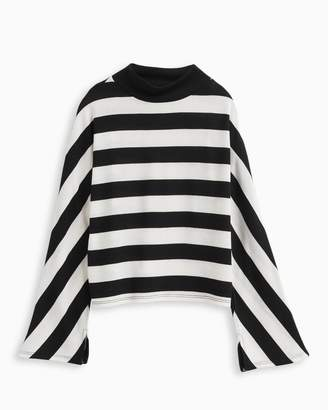 Splendid Girl Stripe Loose Knit Top