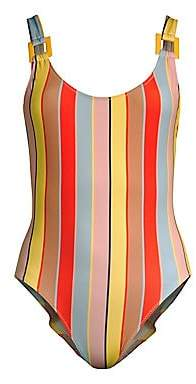 Solid and Striped Women's The Stella One-Piece Striped Swimsuit