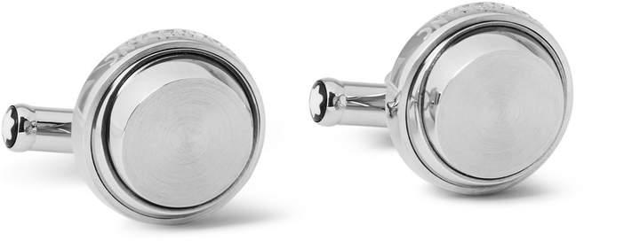 Montblanc Stainless Steel Cufflinks
