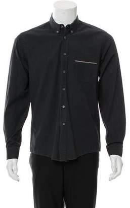Surface to Air Embroidered Button-Up Shirt