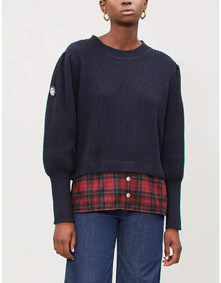Claudie Pierlot Mimissima ribbed knitted jumper