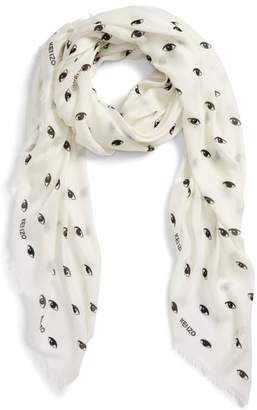Kenzo Eyes All Over Scarf