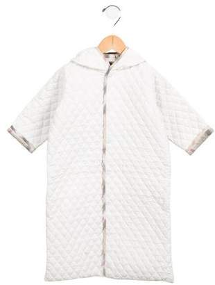 Burberry Infants' Quilted Hooded Coat