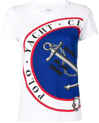 Polo Ralph Lauren anchor print T-shirt