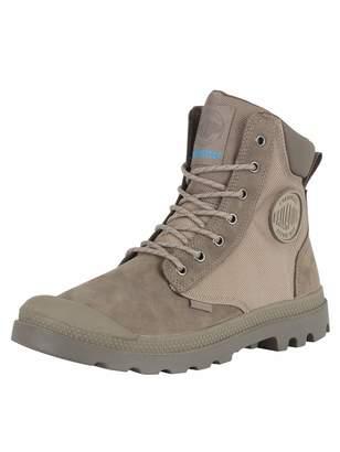 Palladium Men's Pampa Sport Cuff Wpn Boots, Grey, 10 US