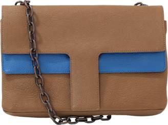 Tomas Maier Shiny Madras Bi-Color Bag
