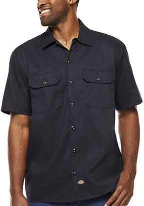 Dickies Short-Sleeve Denim Work Shirt