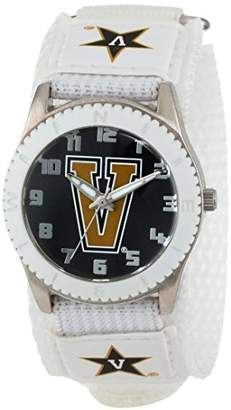 "Game Time Unisex COL-ROW-VAN ""Rookie White"" Watch - Vanderbilt"