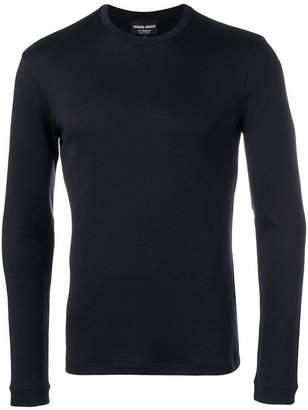 Giorgio Armani slim-fit cashmere sweatshirt