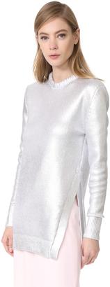 Mugler Long Sleeve Sweater $1,760 thestylecure.com