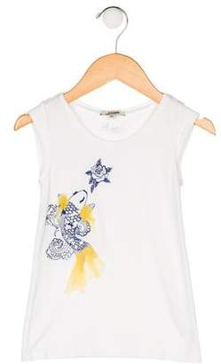 Junior Gaultier Girls' Embroidered Top
